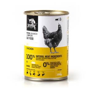 3coty 03. Kurczak 390g naturalna karma monobiałkowa
