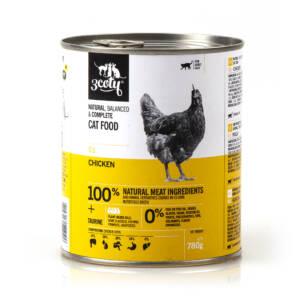 3coty 03. Kurczak 780g naturalna karma monobiałkowa