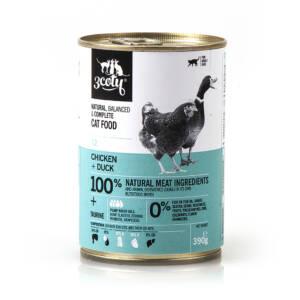 3coty 12. Kurczak + Kaczka 390g naturalna karma