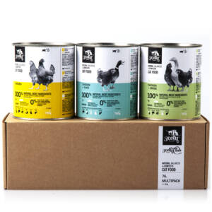 3coty 76.A Multipack for Adult Cats 3 x 780g