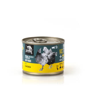 3coty 02. Chicken and Spirulina 180g natural monoprotein cat food