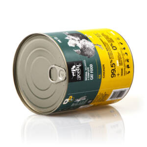 3coty 02. Chicken and Spirulina 780g natural monoprotein cat food
